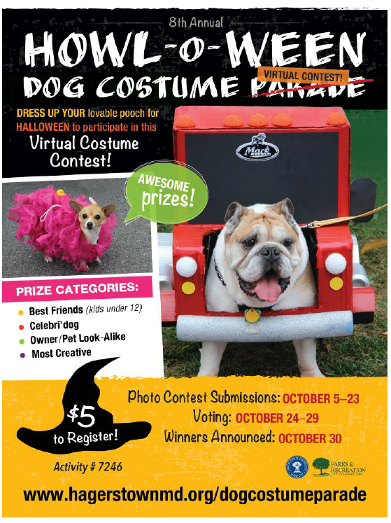 Halloween Costume Contest 2020 Near Me Dog Hagerstown, MD   Official Website
