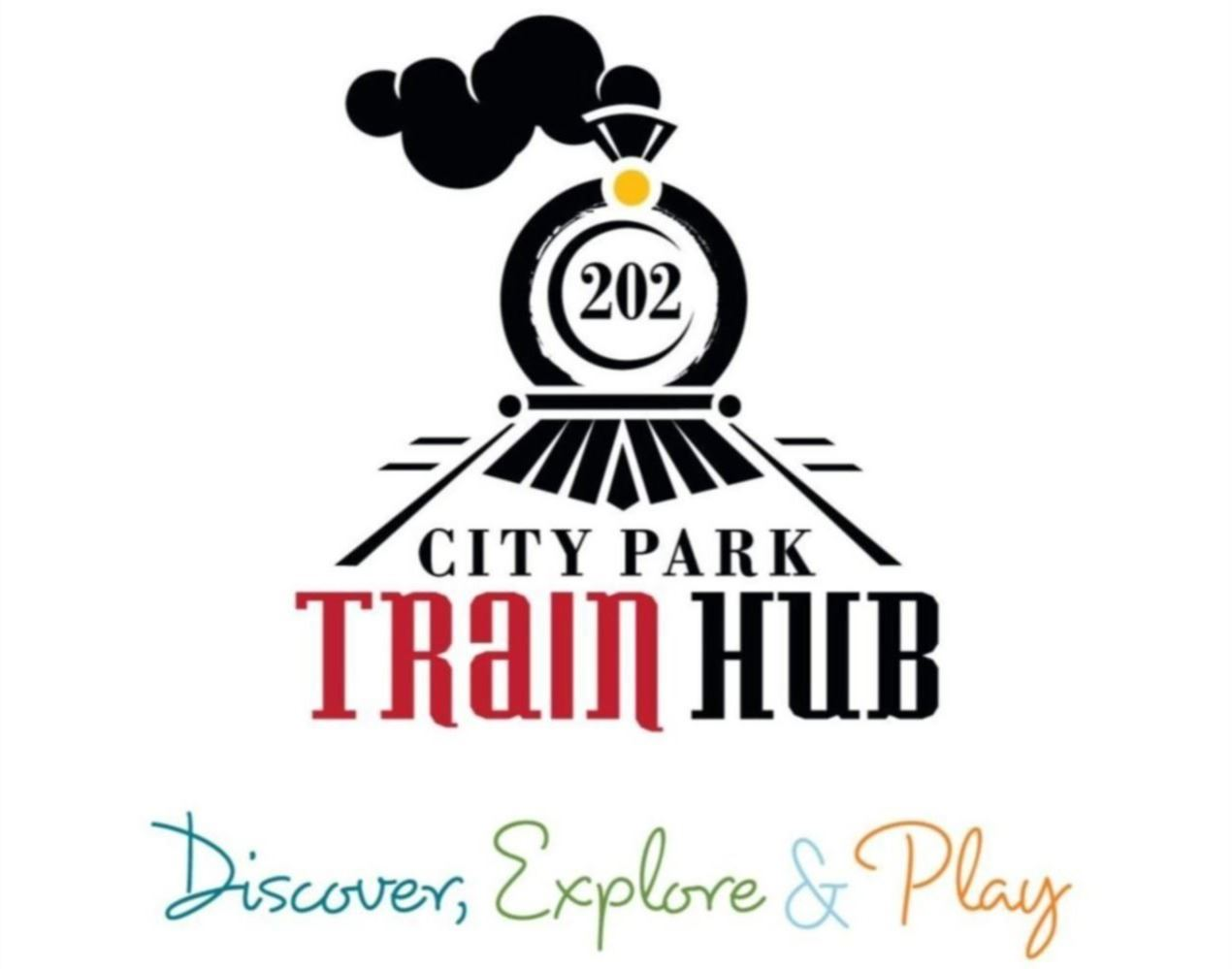 City Park Train Hub Logo