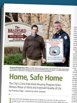 Crime Free Program in Hagerstown Magazine
