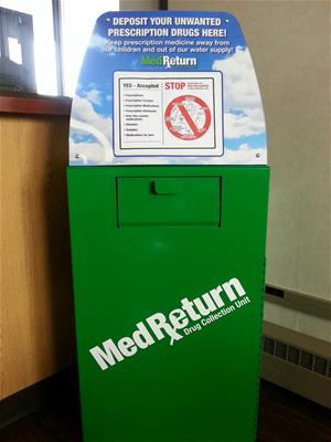 Med Drop Box