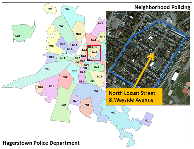 Neighborhood Policing Map