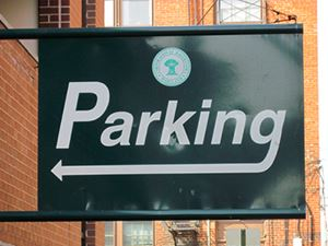 Parking Deck Sign