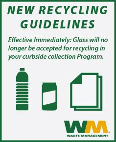 Glass Recycling Ends
