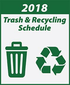 Trash & Recycling Schedules