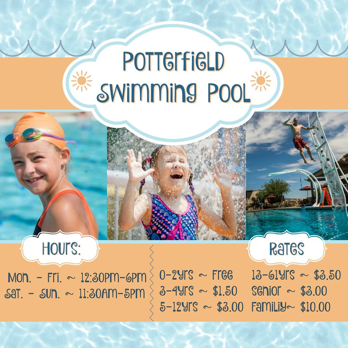 Potterfield Pool Hours