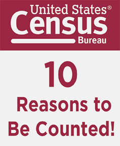 10 Reason to Be Counted!