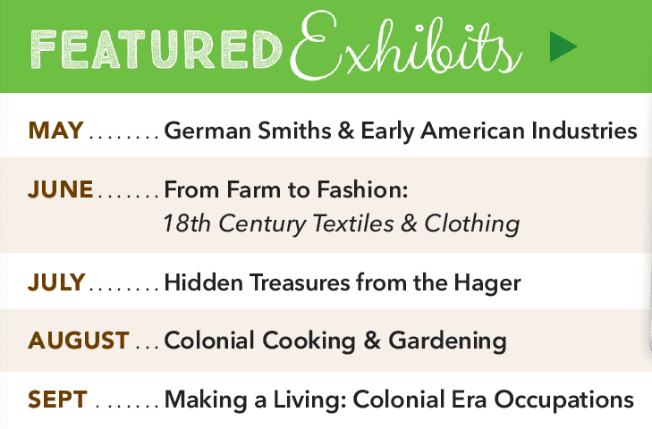 Featured Exhibits_spring summer 2019