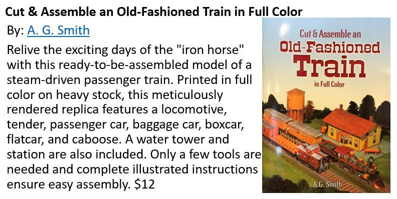 Cut and ASsemble Train_