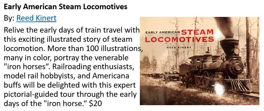 Steam Locomotives Book_