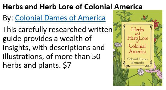 Colonial Herbs