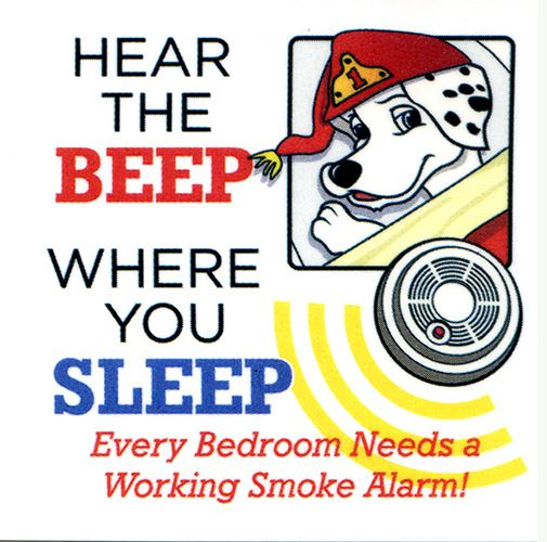 hear the beep where you sleep