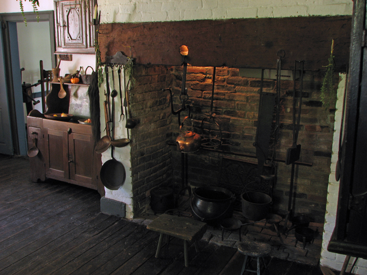 Hager House Kitchen
