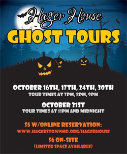 Hager House Ghost Tours