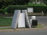 Bulk Trash on a Curb
